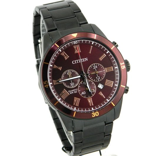 Citizen QUARTZ CHRONOGRAPH – AN8167-53X Men's Wrist Watch