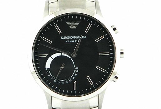 Gents Emporio Armani Connected Bluetooth Hybrid Black Dial Smartwatch ART3000
