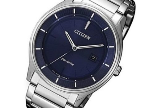 CITIZEN BM7400-80L Eco Drive men's wrist watch in blue dial with date